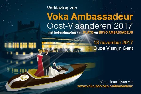Verkiezing Voka Ambassadeur Oost-Vlaanderen