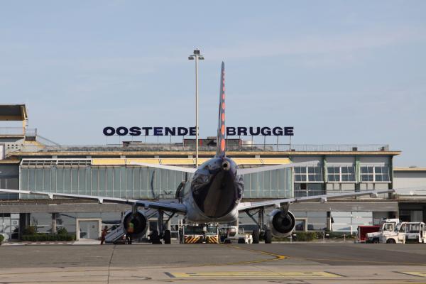 Internationale luchthaven Oostende-Brugge