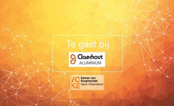 Te gast bij Claerhout Aluminium