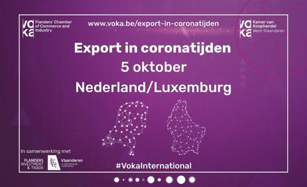 Export in coronatijden - Nederland