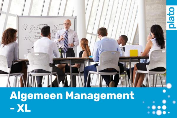 Plato Ondernemers Algemeen Management - XL