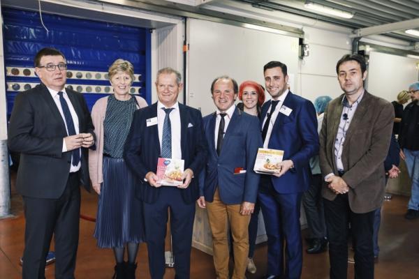 Minister Muyters bezoekt Tops Foods tijdens Voka Open Bedrijvendag