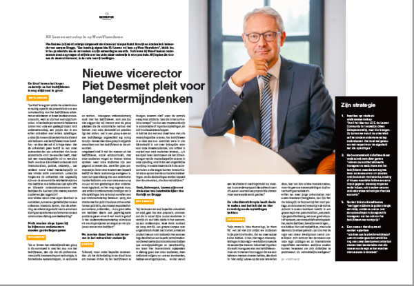Interview Piet Desmet