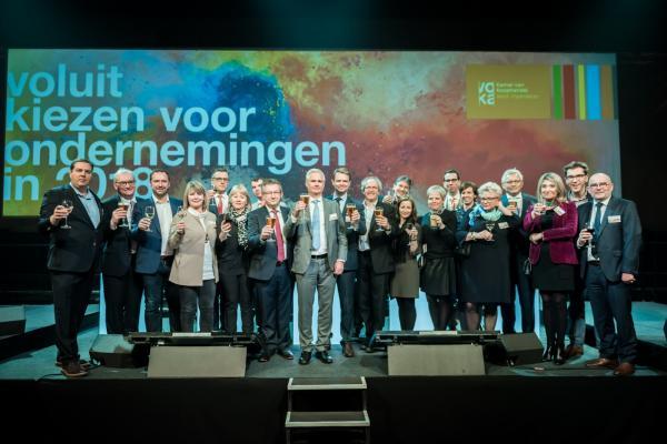 Voka-nieuwjaarsreceptie regio Brugge