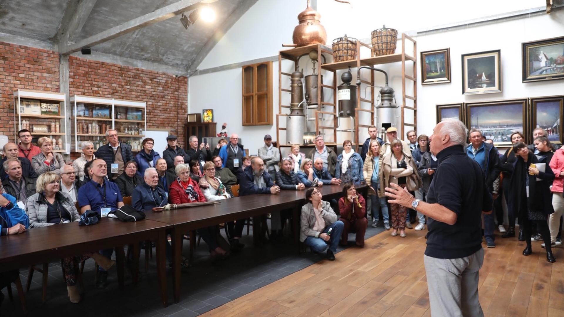 Voka Open Bedrijvendag bij Stokerij Wichelen