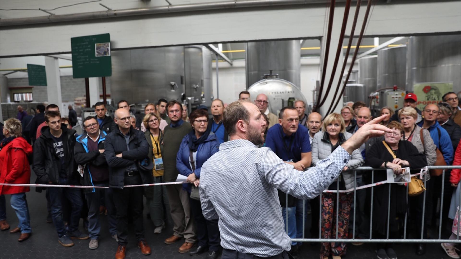 Voka Open Bedrijvendag bij Stokerij Rubbens-Wichelen