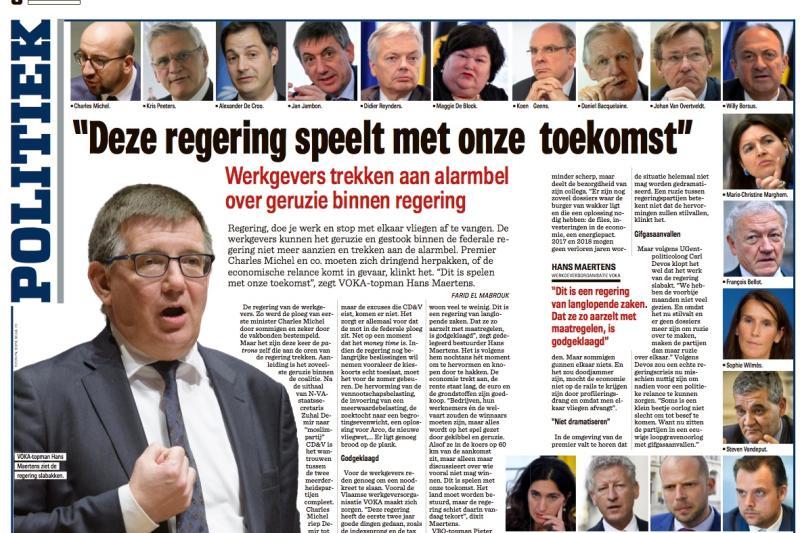 Artikel Het Nieuwsblad