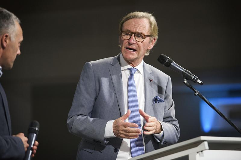 Voor Kamer van Koophandel Oost-Vlaanderen is Willy Naessens voortaan een Voka Legende