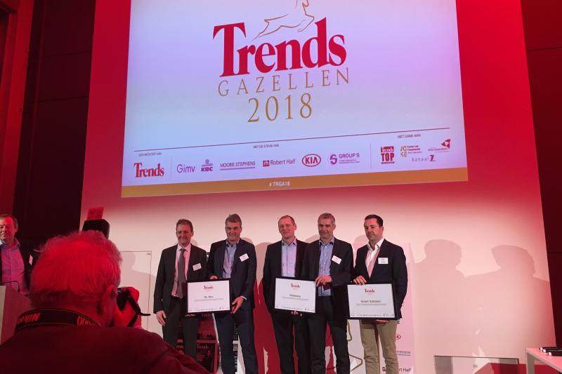 Winnaars Trends Gazellen 2018
