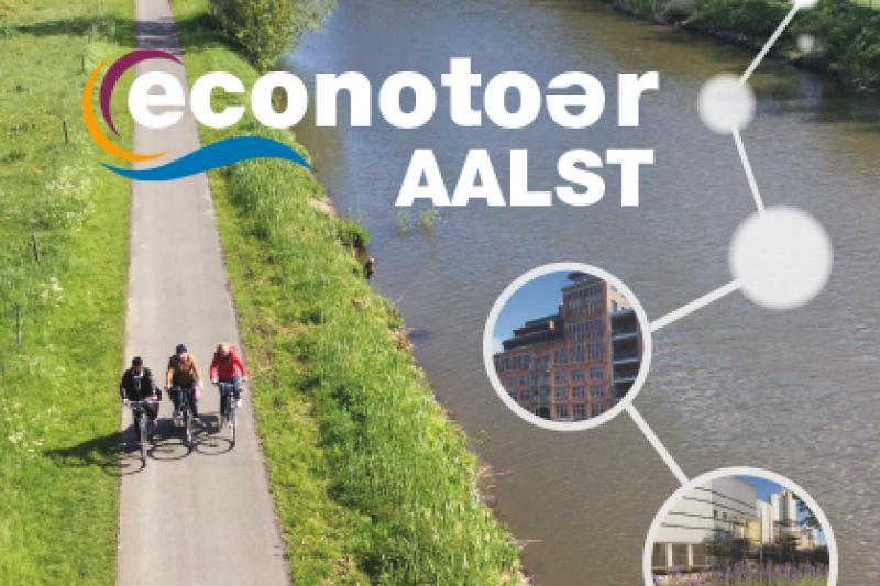 Econotoer Aalst fietst langs bedrijven en industrieel erfgoed