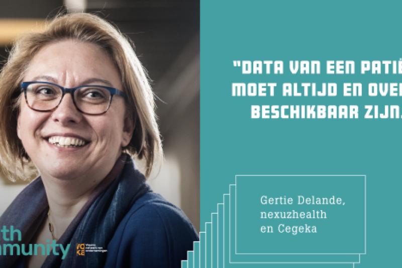 Gertie Delande, Cegeka en Nexuzhealth