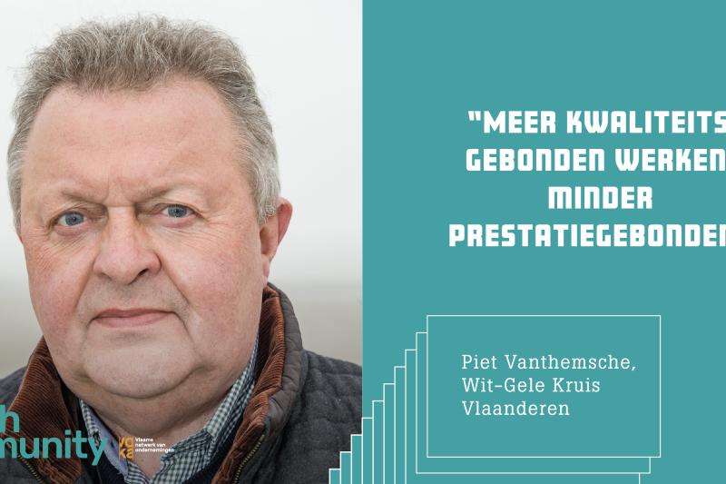 Piet Vanthemsche Wit-Gele Kruis Vlaanderen