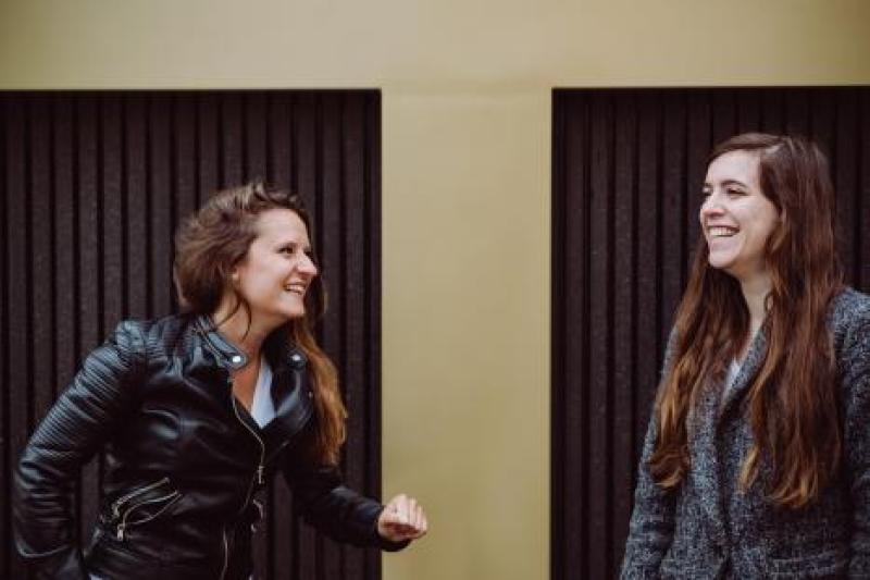 Magali Renard en Jessica Torres Hurtado