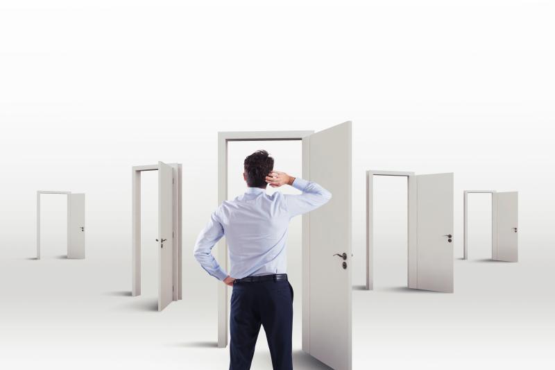 keuzemogelijkheden verschillende open deuren