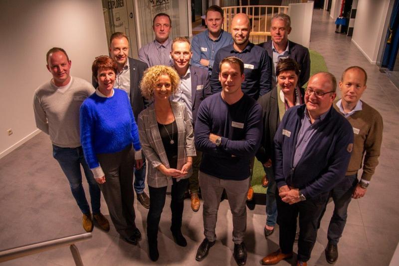 Plato-primeur voor veertien Noord-Limburgse ondernemers