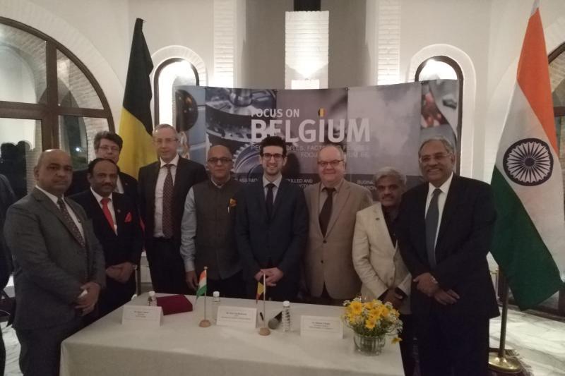 Leuvense delegatie in India