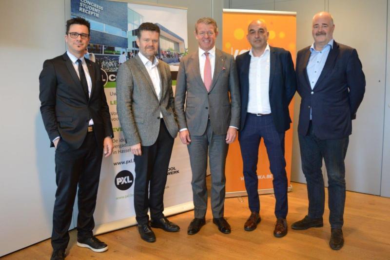 Voka-KvK Limburg en Hogeschool PXL verenigen krachten in jongerennetwerk