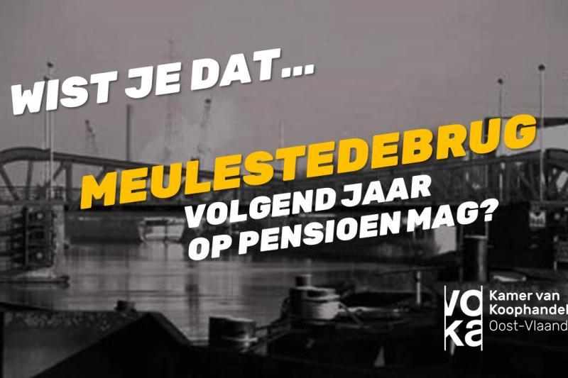 Durf kiezen voor Oost-Vlaanderen: Meulestedebrug vervangen