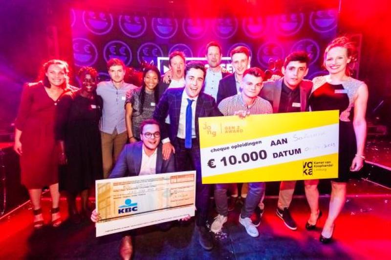 Salivaid wint Jong Voka Gen Z Award