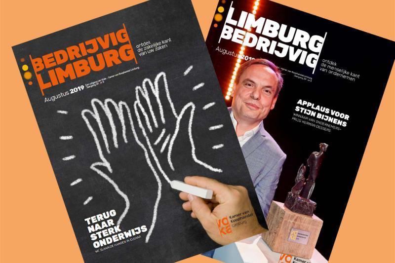Lees hier Bedrijvig Limburg/Limburg Bedrijvig van augustus