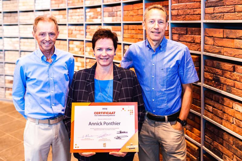 Annick Ponthier bij Vandersanden