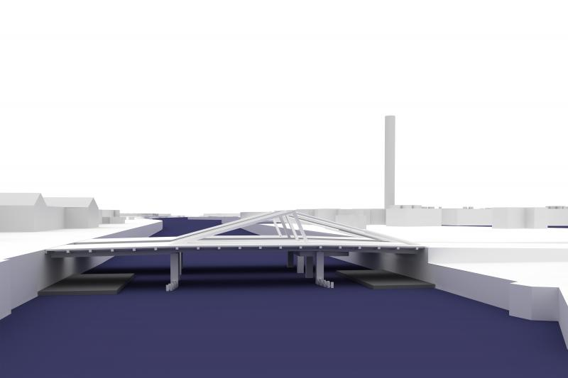 Werk 3: Meulestedebrug in de 21e eeuw brengen