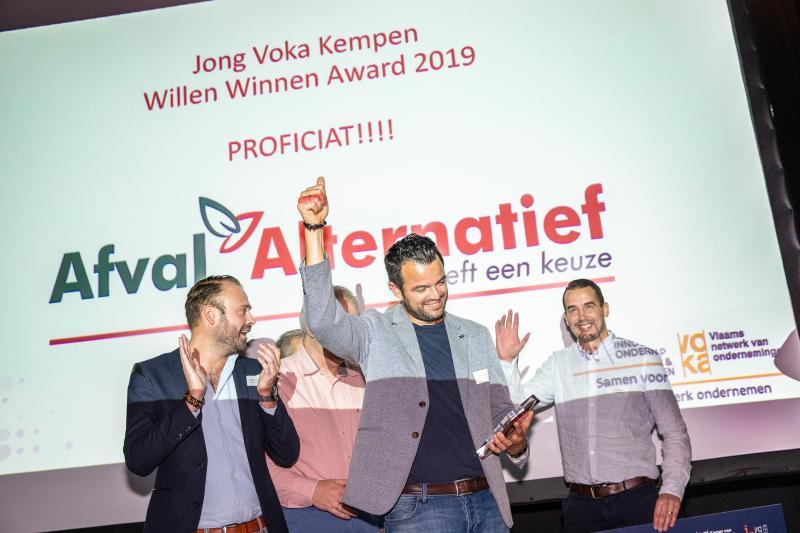 Willen Winnen Award is voor Afval Alternatief