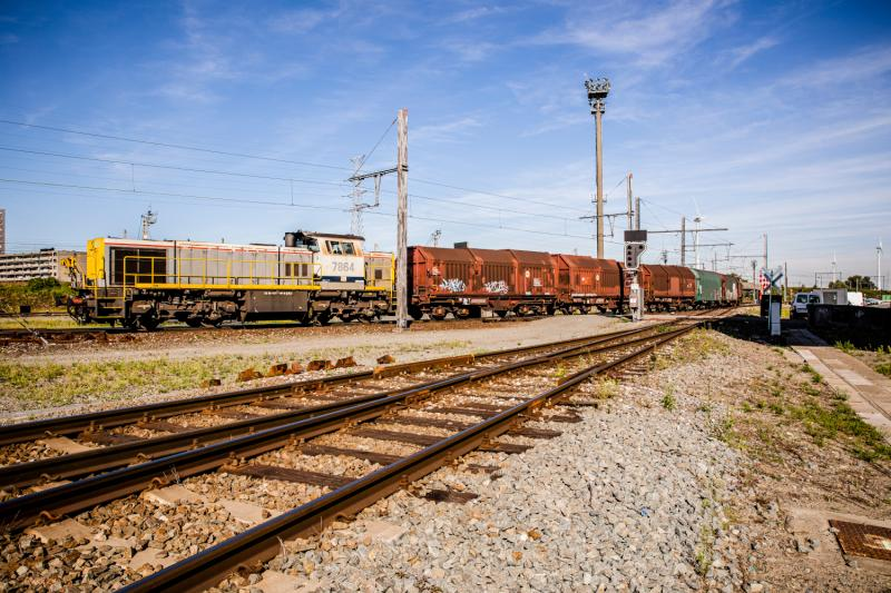 Werk 9: meer transport via spoor