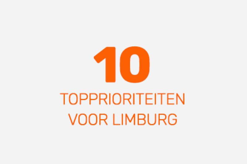 10 topprioriteiten voor limburg