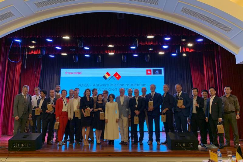 Bedrijfsleiders in Vietnam