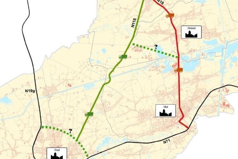 regionale ontsluiting geel-mol