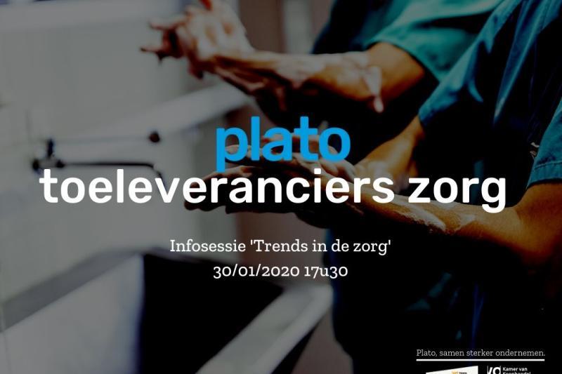Infosessie Plato Toeleveranciers Zorg