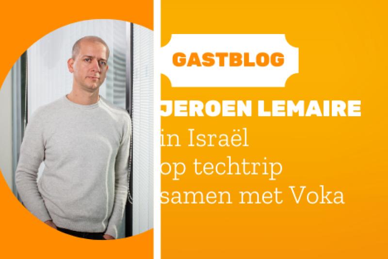 Techtrip Israël: dag 3