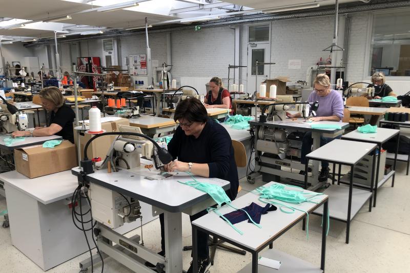 Alsico gaat tot 1 miljoen wasbare en desinfecteerbare mondmaskers produceren