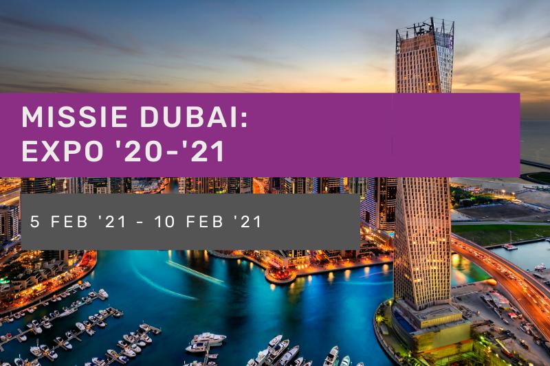 Missie Dubai Expo 20-21