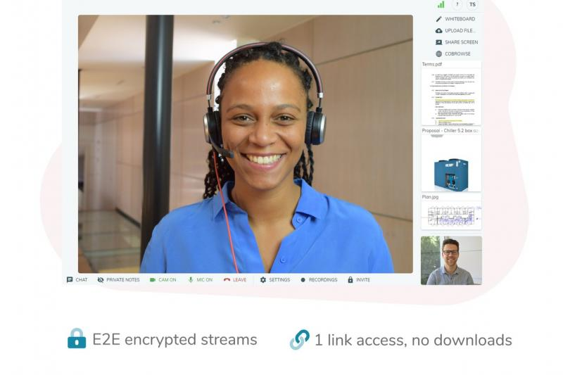 Ook videoconferencing van Vectera gaat viraal
