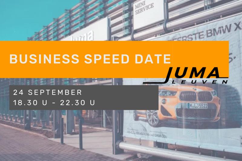 Business Speed date met Walking Dinner bij Juma Leuven