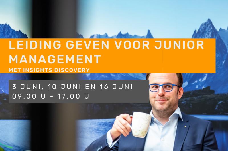 Leiding geven voor junior management met Insights discovery