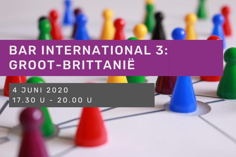 Bar International 3: Groot-Brittanië