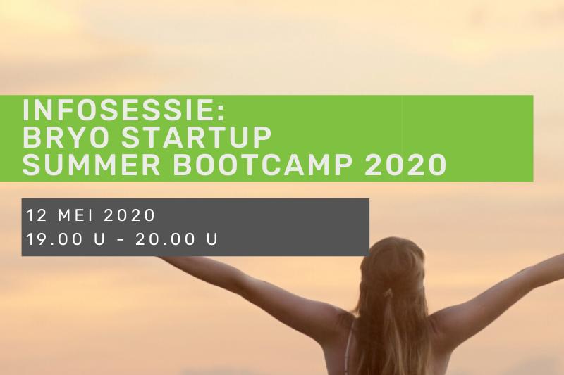 Infosessie Bryo: Summer Bootcamp