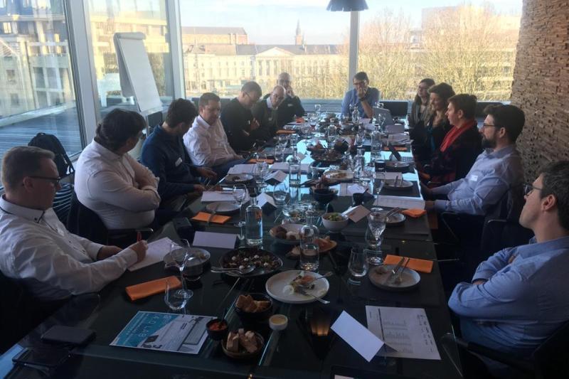 Innovatieve lunch bij Voka