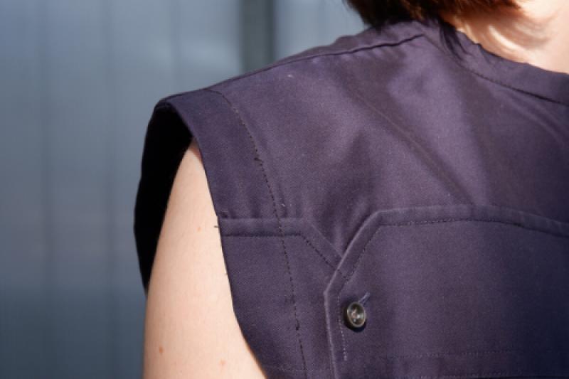 Soraya Wancour van Studio AMA lanceert nieuwe ethische kledijcollectie in coronatijd