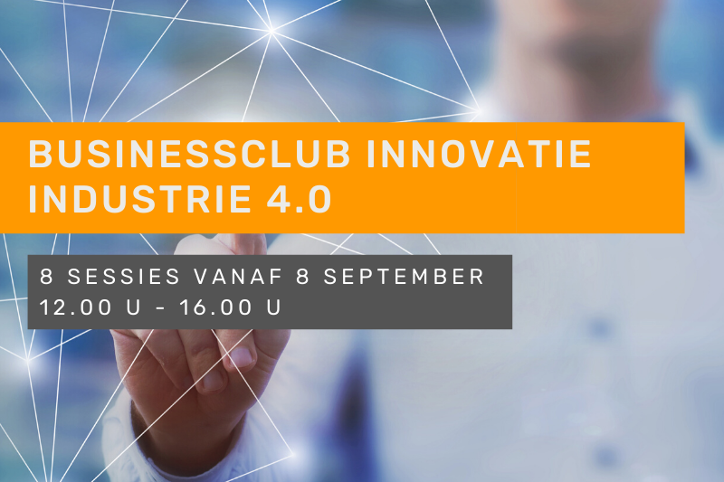 Businessclub Innovatie - Industrie 4.0