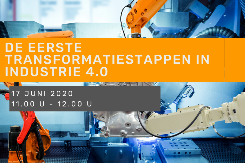 De eerste transformatiestappen in Industrie 4.0