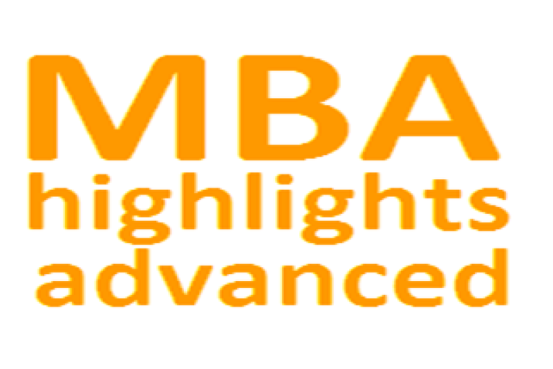mba highlights advanced