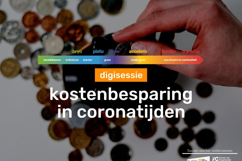 Digisessie: Kostenbesparing in coronatijden