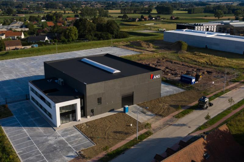 Nieuwe vestiging ANG in Pont-West, Ronse