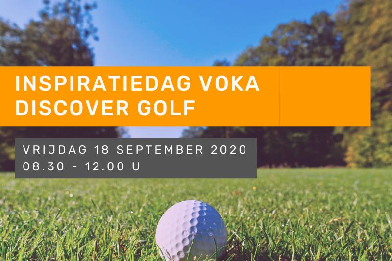 Inspiratiedag Voka Discover Golf