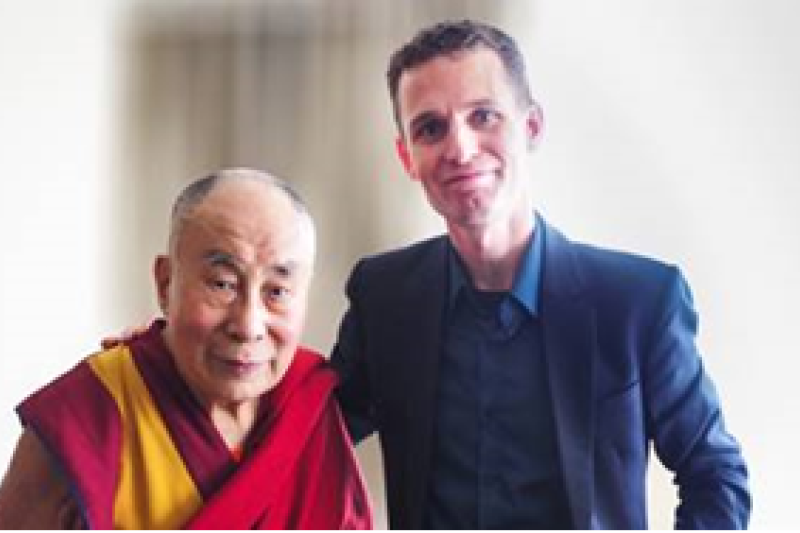 Rasmus Hougaard met with the Dalai Lama
