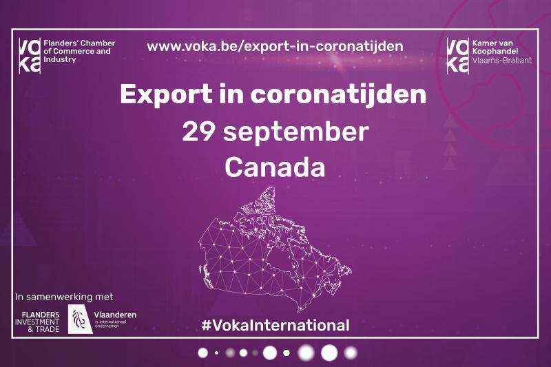 Export in coronatijden: Zakendoen met Canada